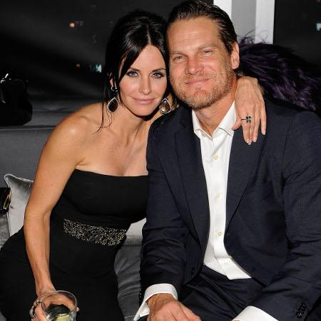 Courteney Cox 'splits with boyfriend'