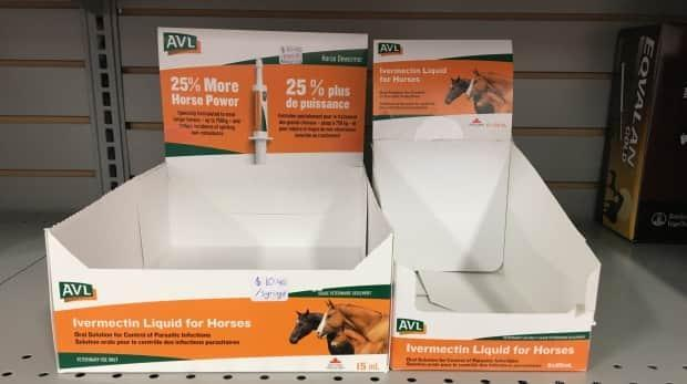 Misinformation that suggests the livestock dewormer drug ivermectin can be used to treat COVID-19 has led the Veterinary College at the University of Saskatchewan to change its policy on who it will give a prescription for the drug. (Lone Star Tack & Feed Inc. - image credit)