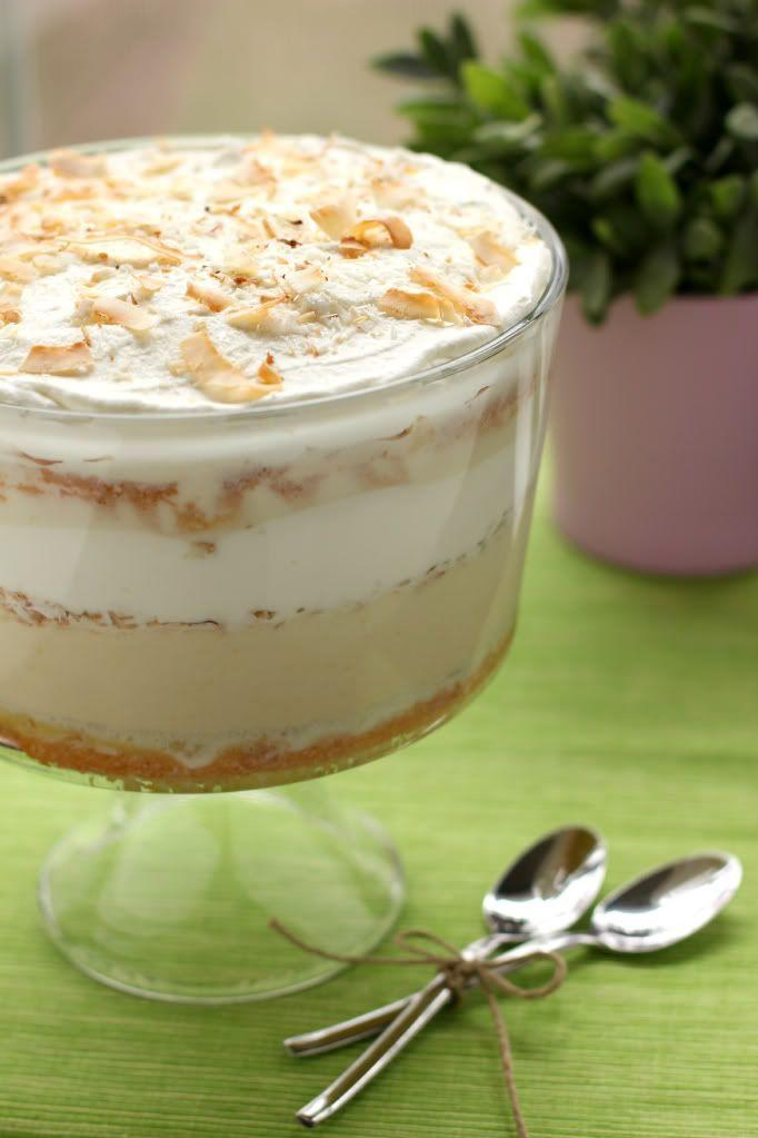 """<p>Just one spoonful of this dessert will take any coconut-lover to tropical heaven. </p><p><strong>Get the recipe at <a href=""""http://willowbirdbaking.com/2012/03/06/tres-leches-coconut-cake-trifle/"""" rel=""""nofollow noopener"""" target=""""_blank"""" data-ylk=""""slk:Willow Bird Baking"""" class=""""link rapid-noclick-resp"""">Willow Bird Baking</a>.</strong> </p><p><a class=""""link rapid-noclick-resp"""" href=""""https://www.amazon.com/Anchor-Hocking-Monaco-Trifle-Bowl/dp/B0002YSLXC?tag=syn-yahoo-20&ascsubtag=%5Bartid%7C10050.g.2721%5Bsrc%7Cyahoo-us"""" rel=""""nofollow noopener"""" target=""""_blank"""" data-ylk=""""slk:SHOP TRIFLE BOWLS"""">SHOP TRIFLE BOWLS</a></p>"""