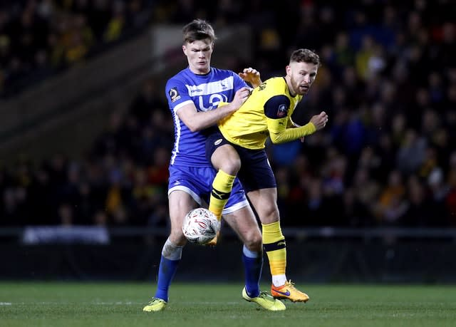 Matty Taylor has been on loan at Oxford this season (Darren Staples/PA)