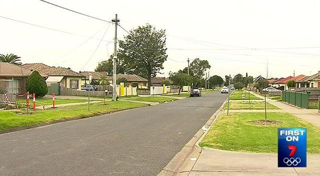 This quiet St Albans street became the scene of a terrifying crime for a young girl and her father. Photo: 7 News