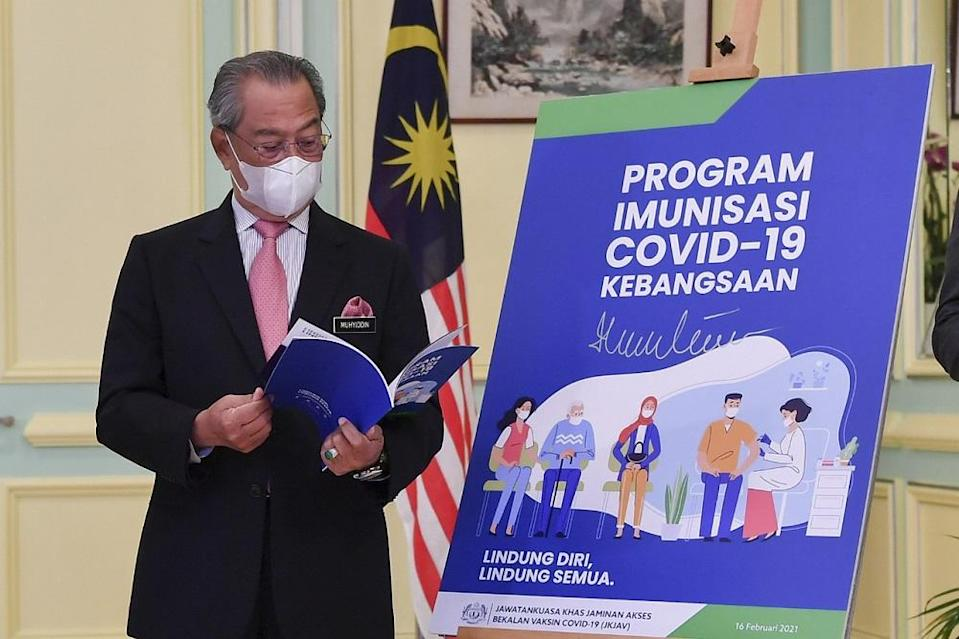 The NPI handbook contains the ways one can register for the vaccination and the overall vaccination plan. — Bernama pic