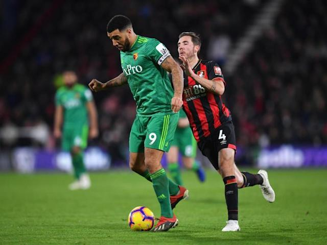 Troy Deeney charged by FA for referee 'bottling' comments following Watford's draw against Bournemouth