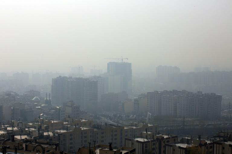 Tehran is frequently enveloped in heavy pollution, especially in winter (AFP Photo/STR)