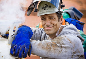 Mike Rowe | Photo Credits: Blaine Fisher/Discovery Channel