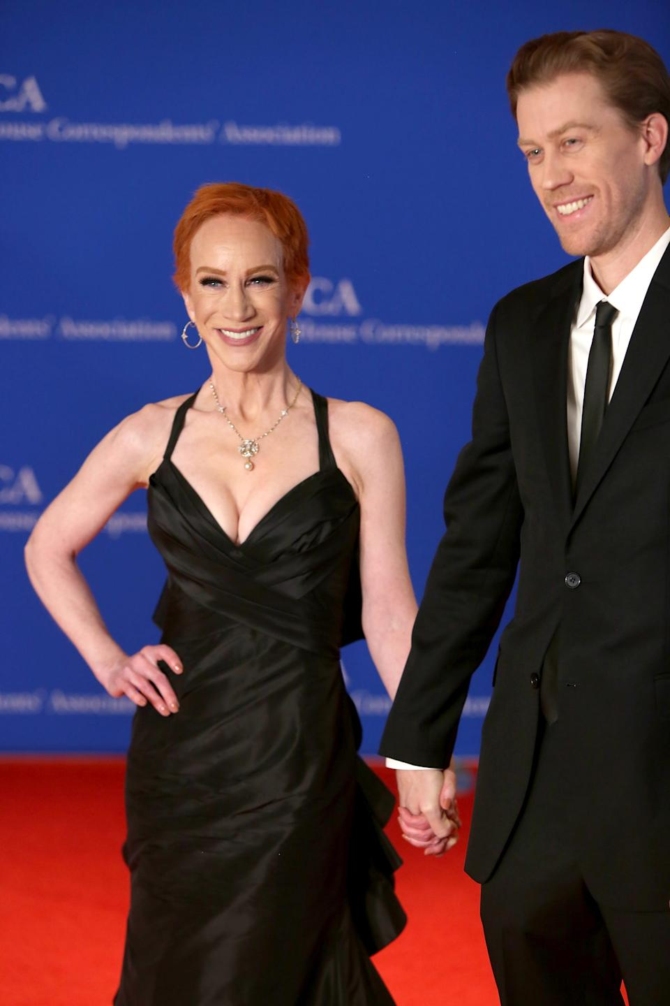 Kathy Griffin and Randy Bick attend the 2018 White House Correspondents' Dinner on April 28, 2018 in Washington, DC.
