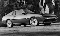 """<p>Chrysler got its pound of flesh, too, selling the Starion as the Conquest under Chrysler, Dodge, and Plymouth banners at various times. Having run for the majority of the 1980s, the mighty Starion was ultimately replaced by <a href=""""http://www.caranddriver.com/flipbook/10-cars-that-made-complexity-a-virtue"""" rel=""""nofollow noopener"""" target=""""_blank"""" data-ylk=""""slk:the fiendishly complicated 3000GT"""" class=""""link rapid-noclick-resp"""">the fiendishly complicated 3000GT</a>, a '90s-innovative machine that nevertheless was not quite as endearing as the angular, can-do Starion of the laser age. And the 3000GT wasn't available with beautiful, """"TURBO""""-emblazoned seatbelts. <em>—Davey G. Johnson</em><br></p>"""