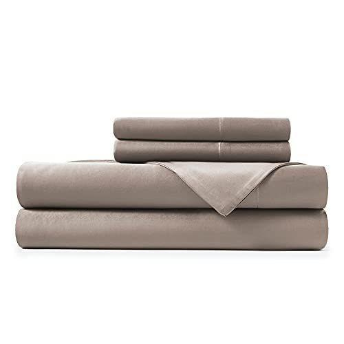 """<p><strong>Hotel Sheets Direct</strong></p><p>amazon.com</p><p><strong>$59.99</strong></p><p><a href=""""https://www.amazon.com/dp/B072WD91XH?tag=syn-yahoo-20&ascsubtag=%5Bartid%7C2139.g.37634768%5Bsrc%7Cyahoo-us"""" rel=""""nofollow noopener"""" target=""""_blank"""" data-ylk=""""slk:BUY IT HERE"""" class=""""link rapid-noclick-resp"""">BUY IT HERE</a></p><p>If you're willing to base your buying choices on the opinions of Amazon shoppers, you'll be eager to know that Hotel Sheets Direct makes the best-rated bamboo sheets on Amazon, with more than 12,000 five-star reviews. They're soft and breathable, which means they're great for cooling down hot sleepers. They're also one of the most inexpensive options for bamboo sheets. </p>"""