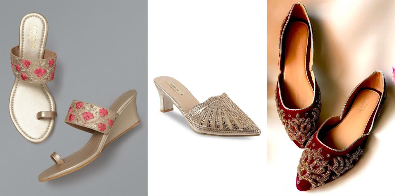 From high heels to flat sandals, we've got it all. So take your pick and start shopping.