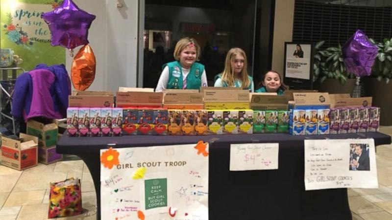 NYC Girl Scout Troop Uses Leonardo DiCaprio-Inspired Poster to Sell Cookies
