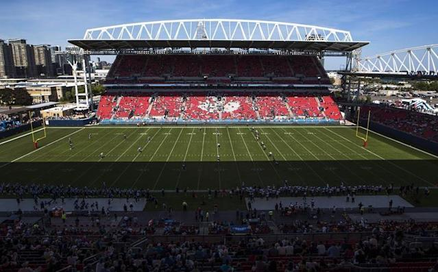 Ambrosie says CFL, Argos well aware of turf issues that exist at BMO Field