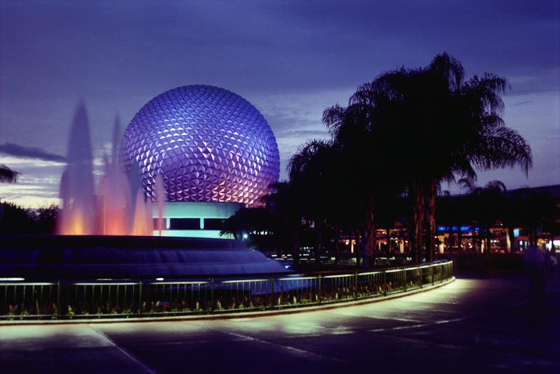 The Epcot Center at Disney World