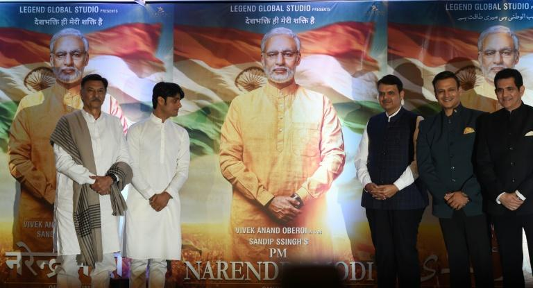 """The makers released a two-minute trailer last week of the film saying it is """"based on true story"""", with Bollywood actor Vivek Oberoi playing Modi through various stages of his life"""