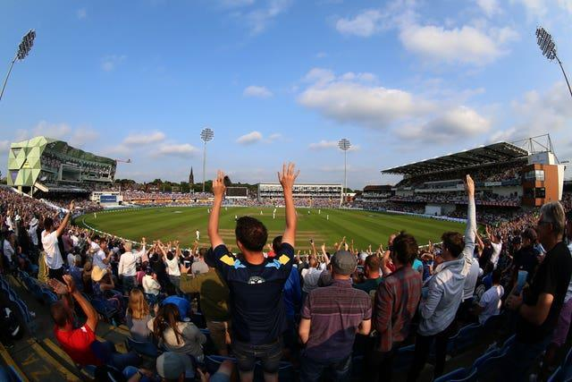 England fans lapped up the action at Headingley