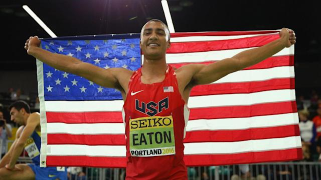 Two-time Olympic decathlon champion Daley Thompson believes Ashton Eaton is likely to break the world record once more at Rio 2016.