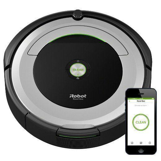 "Full price: $375<br /><a href=""https://www.target.com/p/irobot-174-roomba-174-690-wi-fi-174-connected-vacuuming-robot/-/A-52360762?clkid=40ecd019N8ea6360d5a5d75a152c3b9aa&lnm=81938"" target=""_blank"">Sale price: $275</a>"