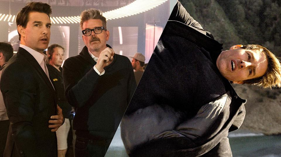 Tom Cruise and Christopher McQuarrie.