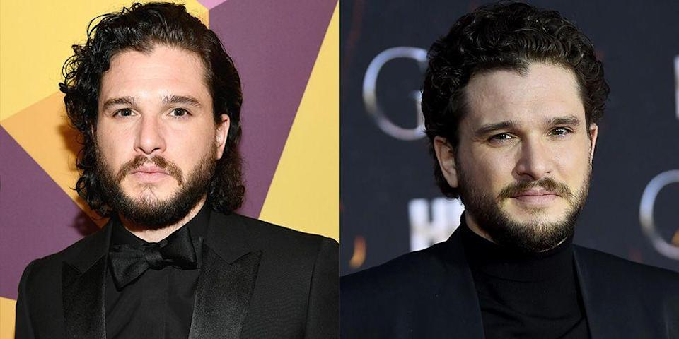 <p><strong>Signature:</strong> Long, chin-length hair</p><p><strong>Without Signature: </strong>At the <em>Game of Thrones </em>season 8 premiere in 2019 rocking a freshly chopped shorter style. </p>