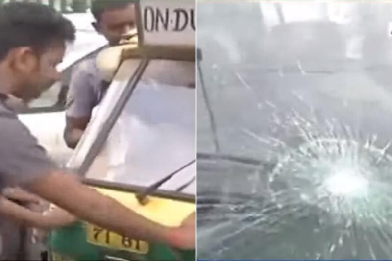 Striking Unions Force Passengers Out of Cabs, Autos as Protest Against New MV Act Brings Delhi to Halt