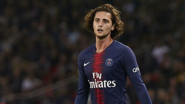 PSG midfielder Adrien Rabiot looks set to leave the club in the near future