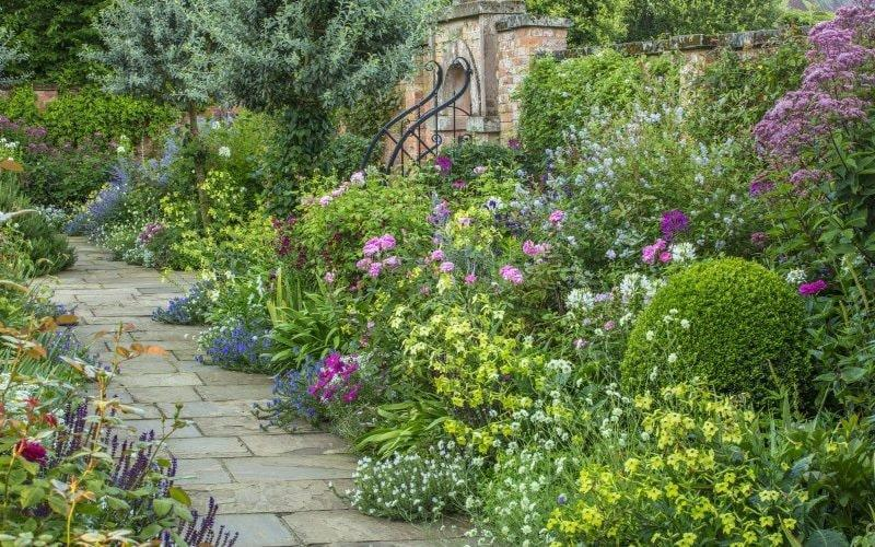 Enjoy stunning views of the Worcestershire countryside, thanks to the house and garden's elevated position - National Garden Scheme