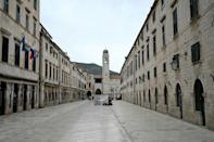 Authorities in the Adriatic coastal city of Dubrovnik would like to see it move upscale after the pandemic is over