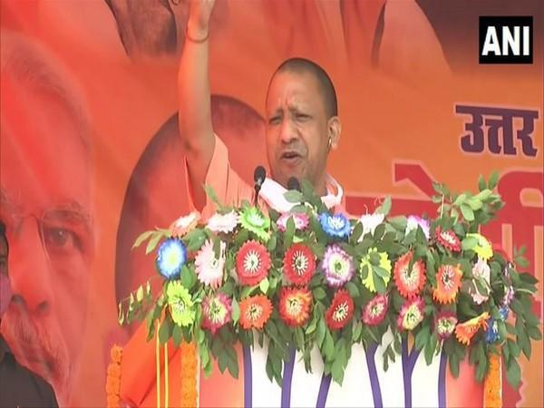 Uttar Pradesh Chief Minister Yogi Adityanath. [File Photo/ANI]