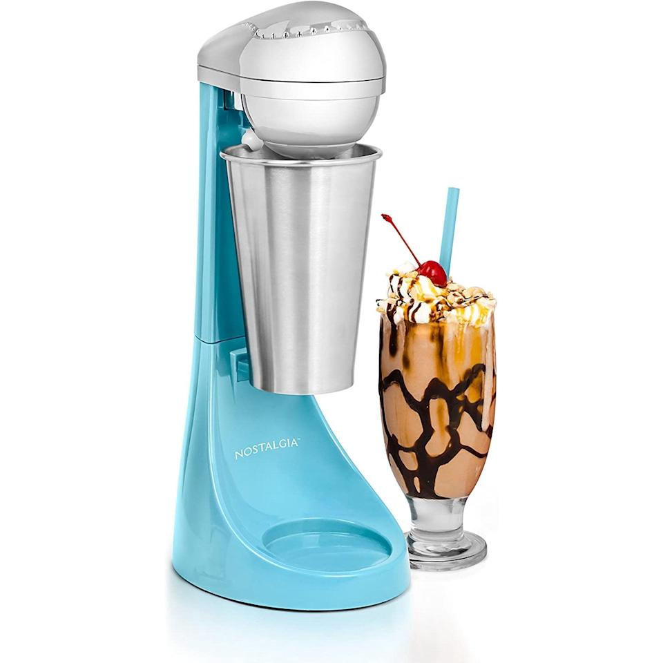 <p>If you love milkshakes, the <span>Nostalgia Electric Two-Speed Milkshake Maker</span> ($39) is a kitchen tool you need to have.</p>