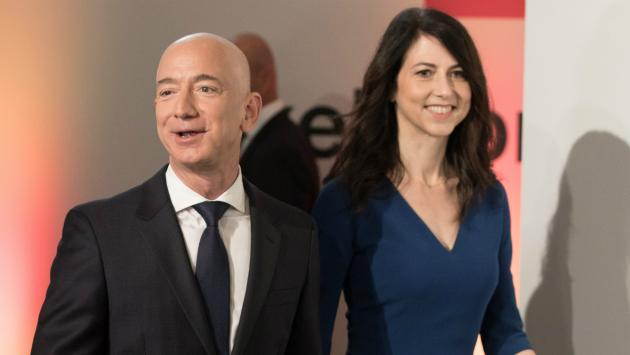 L'homme le plus riche du monde divorce — Jeff Bezos (Amazon)