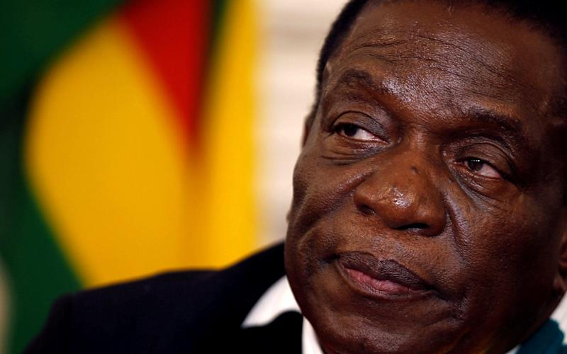 Zimbabwean President Emmerson Mnangagwa has welcomed Chinese firms into Zimbabwe - Reuters