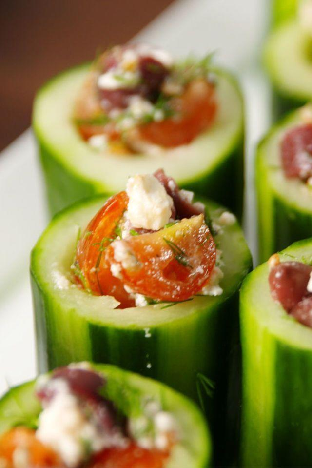 "<p>We want all Greek, all the time.</p><p>Get the <a href=""https://www.delish.com/uk/cooking/recipes/a29947495/greek-cucumber-cups-recipe/"" rel=""nofollow noopener"" target=""_blank"" data-ylk=""slk:Greek Cucumber Cups"" class=""link rapid-noclick-resp"">Greek Cucumber Cups</a> recipe.</p>"