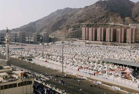 First day of annual hajj pilgrimage in Makkah