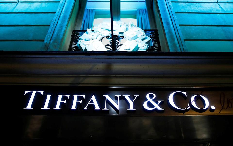 A Tiffany & Co store in Paris
