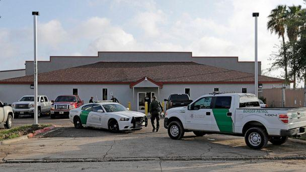 PHOTO: In this Saturday, June 23, 2018, file photo, a U.S. Border Patrol Agent walks between vehicles outside the Central Processing Center in McAllen, Texas (AP Photo/David J. Phillip)