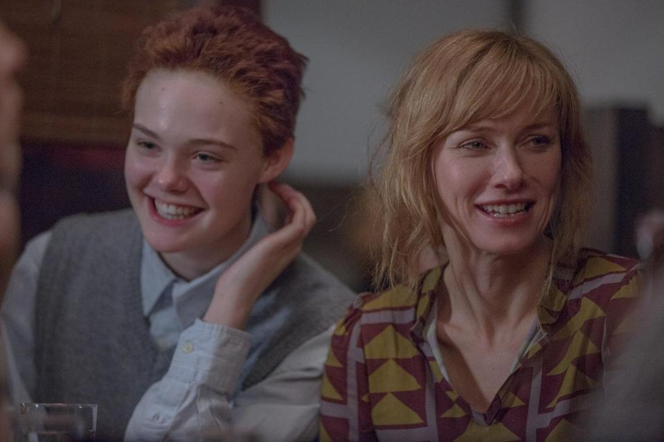 Elle Fanning and Naomi Watts in '3 Generations' (credit: The Weinstein Company)
