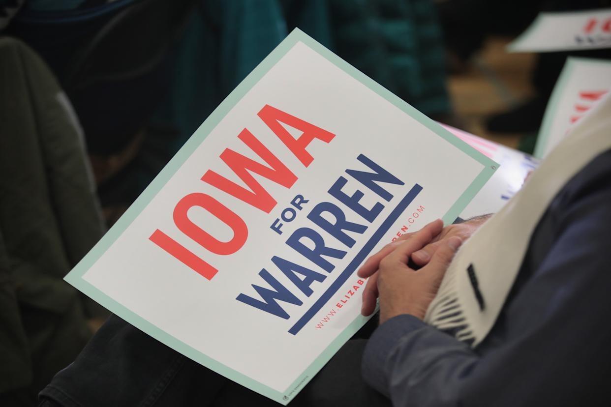 The 2020 Iowa Democratic caucuses will take place on Feb. 3, making it the first nominating contest for the Democratic Party in choosing its presidential candidate. (Photo: Scott Olson/Getty Images)