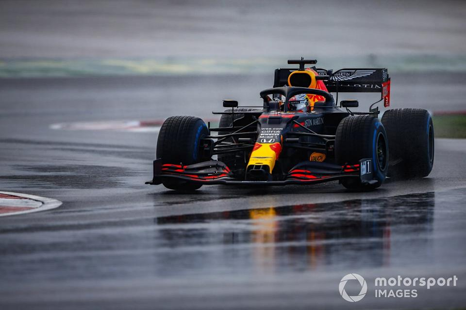 """Max Verstappen, Red Bull Racing RB16<span class=""""copyright"""">Andy Hone / Motorsport Images</span>"""