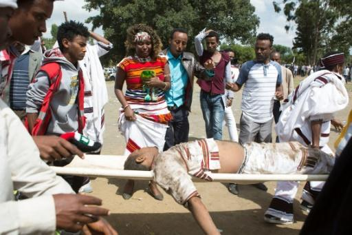 Several dead in Ethiopia stampede as police tear gas protesters
