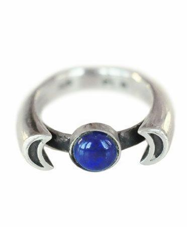 "<p>Sterling silver crescent moons surround a beautiful lapis stone. <a href=""http://www.pamelalove.com/products/luna-ring"" rel=""nofollow noopener"" target=""_blank"" data-ylk=""slk:Pamela Love Luna Ring in Silver/Lapis"" class=""link rapid-noclick-resp"">Pamela Love Luna Ring in Silver/Lapis </a>($200)</p>"