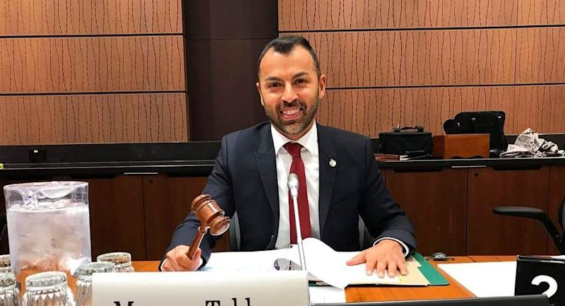 Liberal MP Marwan Tabbara is chair of the House of Commons' foreign affairs committee's subcommittee on human rights. (Photo: Facebook/marwantabbaramp)