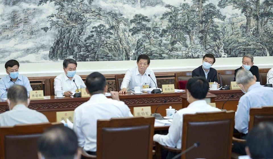 The National People's Congress Standing Committee is expected to pass the legislation on Thursday. Photo: Xinhua