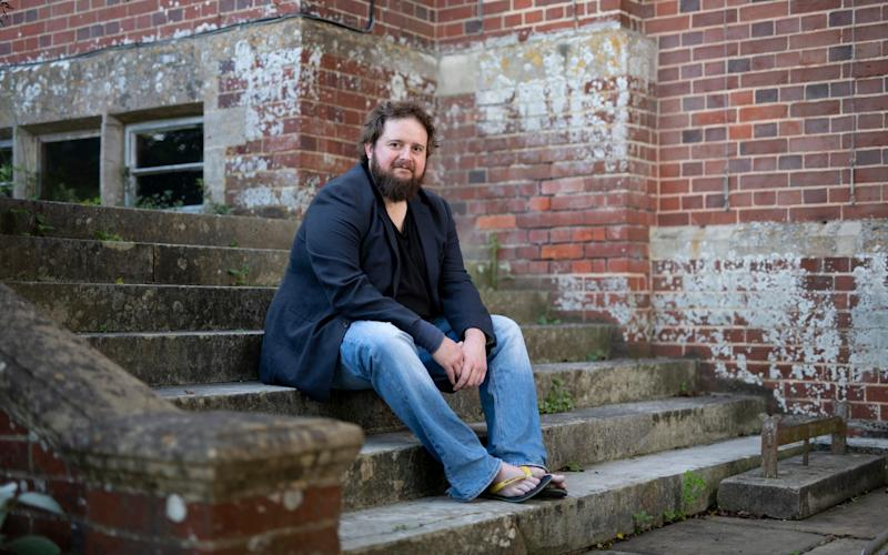Tenor Allan Clayton at Glyndebourne Opera House - Christopher Pledger/FOR THE TELEGRAPH