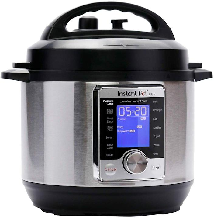 This Instant Pot has a 4.4 out of 5 star review rating with over 3,300 reviews. (Photo: Amazon)