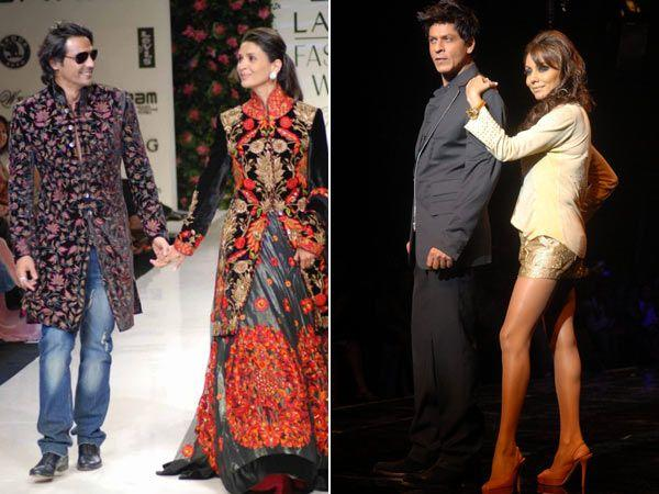 Bollywood Couples Who Have Sizzled on the Ramp