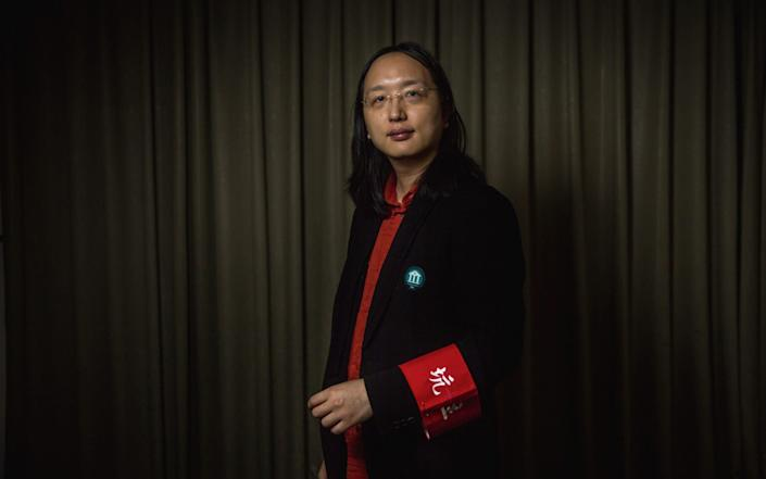 Audrey Tang is one of Taiwan's most popular ministers - Billy H.C Kwok/Polaris/eyevine