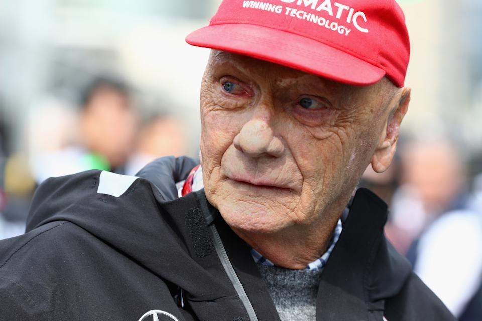 Niki Lauda died aged 70 earlier this year. (Credit: Getty Images)