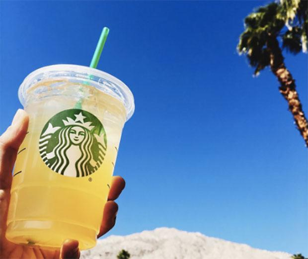 Starbucks has a pretty sweet deal for National Iced Tea Day — literally!