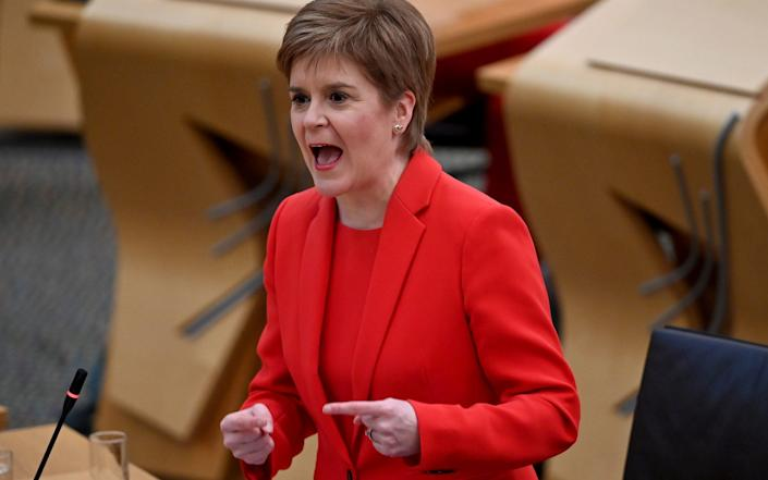 The move will anger the SNP - Jeff J Mitchell/PA