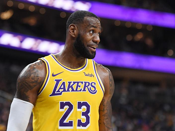 LeBron James says he would never condone violence against police (Getty)