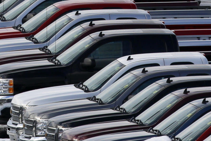 Sales at US automakers jump; VW growth slows